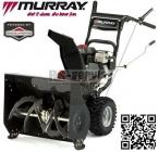 Murray MH 61900 dvoustupňová sněhová fréza 6,5HP 61cm - doprava ZDARMA