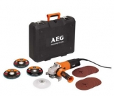 AEG WS 12-125 XE Kit úhlová bruska s regulací otáček 125mm 1200W