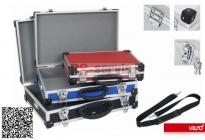 Varo PRM10103X - Sada 3 ks hliníkových kufrů se zámky