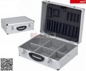 Varo PRM10102 - Hliníkový kufr se zámky 460x330x160mm