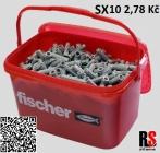 fischer SX hmoždinka 10 x 50 mm 70010 - AKCE kyblík 720 ks