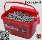 fischer SX hmoždinka 12 x 60 mm 70012 - AKCE kyblík 350 ks