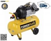 PowerPLUS POWX1770 - Kompresor olejový 2200W 240V  9 bar 356l/min 50L - doprava ZDARMA