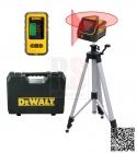 DEWALT DW0811-XJ SET SD Čárový laser 360° s jedním vertikálním paprskem + stativ + detektor DE0892 - doprava ZDARMA