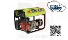 PRAMAC ES3000 AVR Elektrocentrála jednofázová 2,2kW s motorem Honda GX 160 - doprava ZDARMA