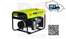 PRAMAC ES5000 AVR Elektrocentrála jednofázová 3,9kW s motorem Honda GX 270 - doprava ZDARMA