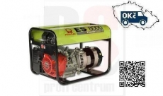 PRAMAC ES8000 AVR Elektrocentrála jednofázová 5,5kW s motorem Honda GX 390 - doprava ZDARMA