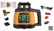 Lamigo Spin 230 rotační horizontální a vertikální sklonový laser s olovnicí  a LCD displejem - doprava ZDARMA