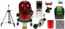 SET SA 416 Liniový laser 360° + SAR 01  Detektor laserových paprsků + STL 180t Lamigo Výsuvný stativ - doprava ZDARMA