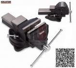 KREATOR KRT554002 - Svěrák litinový otočný 125mm