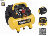 PowerPLUS POWX1721 Kompresor bezolejový 1100W 6L 8bar