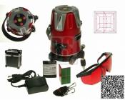 Laser liniový SA 416X 100mW s dosahem až 30m, 2x360´a olovnicí