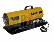 Master B35CED - Mobilní naftové topidlo s přímým spalováním o výkonu 10 kW