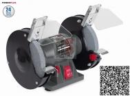 PowerPLUS POWE80080 Dvoukotoučová bruska 150W 150x16x12,7mm
