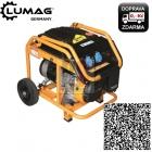 Lumag G3-E Generátor jednofázový benzínový 2,8kW 2x230V LCD displej + motohodiny - doprava ZDARMA