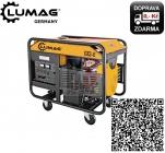 Lumag G13-E Generátor třífázový benzínový 11,0kW 2x230V/16A 1x400V/16A motohodiny + start na dálku - doprava ZDARMA