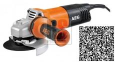 AEG WS13-125SXE Úhlová bruska s regulací otáček 1300W 125mm