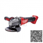Milwaukee Fuel M18 CAG125X-0 Aku úhlová bruska 18V 125mm