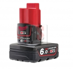 Milwaukee M12 B6 RED LI-Ion Akumulátor 12V 6,0Ah