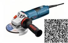 Bosch GWS 13-125 CIE  Úhlová bruska s regulací otáček 125mm 1300W - doprava ZDARMA