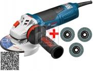Bosch GWS 19-125 CIE  Úhlová bruska s regulací otáček 125mm 1900W - doprava ZDARMA