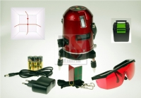 Laser křížový liniový SA 112 s dosahem až 30m