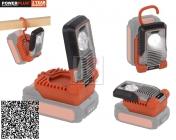 PowerPLUS POWDP8010 - Aku LED svítilna 20V LI-ION 5W - DUAL POWER
