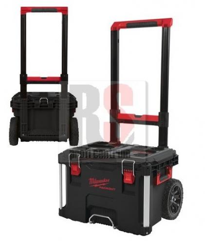 b9ebe1561a1f2 Milwaukee PACKOUT 1 pojízdný pracovní kufr na nářadí s nosností 113kg