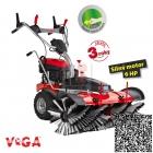VeGA S1000V Motorový zametač s variabilním pojezdem a rychlostí kartáče