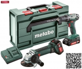 metabo Combo Set 2.4.3 18V - BS18 + W18 LTX 125 Quick - 1x4,0Ah + 1x2,0Ah